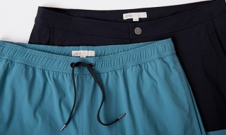 Onia Two-Tone Bonded Swimshorts