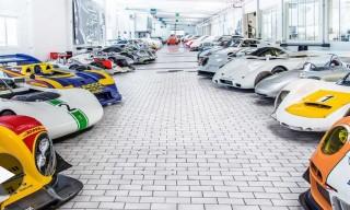 Inside Porsche's Secret Prototype Warehouse in Germany