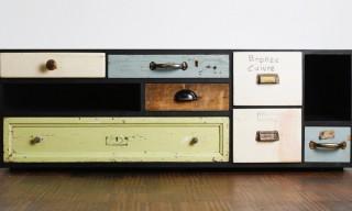 Restored Vintage Drawers by Berlin's Schubladen
