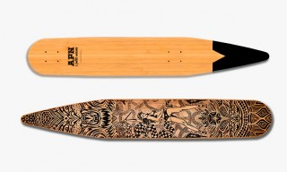 "Tapered ""It's Just a Ride"" Cruiser Skateboards from APN"