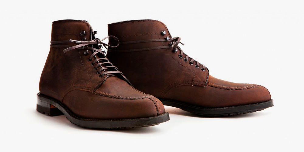 factory price 55ff0 a454e Alden Create Oiled Chamois Leather Tanker Boot for Leffot    Selectism chic
