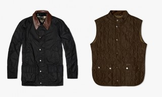 Barbour & Land Rover Present a Fall/Winter 2014 Capsule Collection