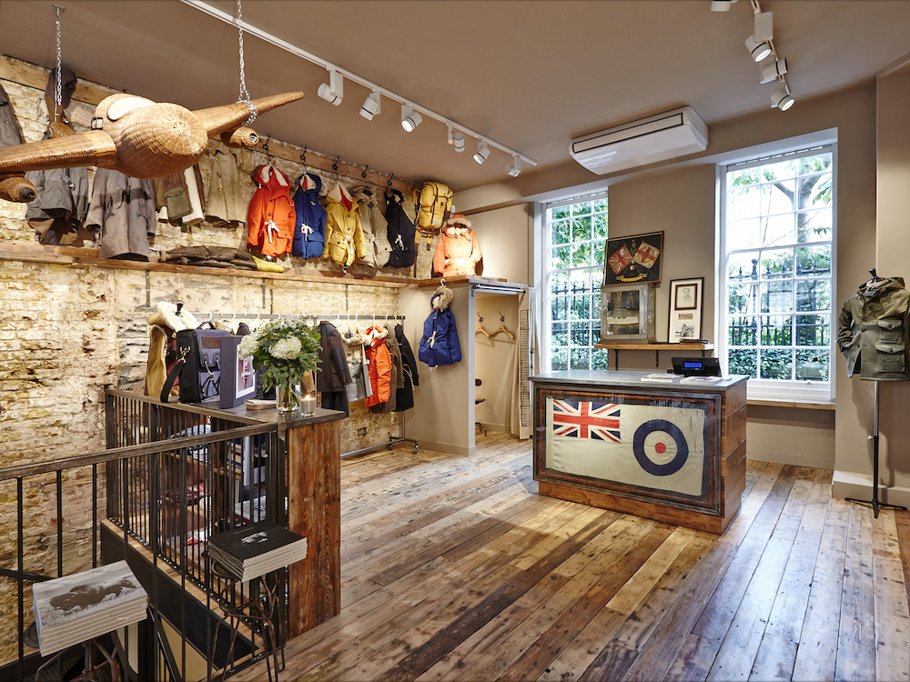 Go Inside the New Nigel Cabourn Store   The Army Gym London