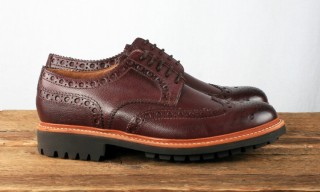 Grenson Equips the Archie with a Commando Sole