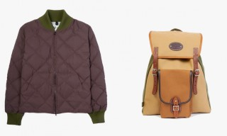 The Garbstore Collaborate with Crescent Down Works and Chapman for Fall/Winter 2014