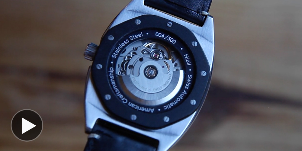 Durable American-Crafted Watches from Kansas' Niall 2014