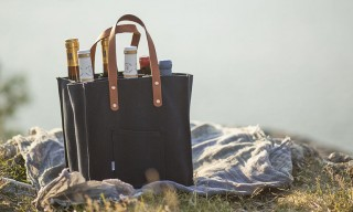 Canvas Wine Bag from Sandqvist & Swedish Sommelier Alf Tumble