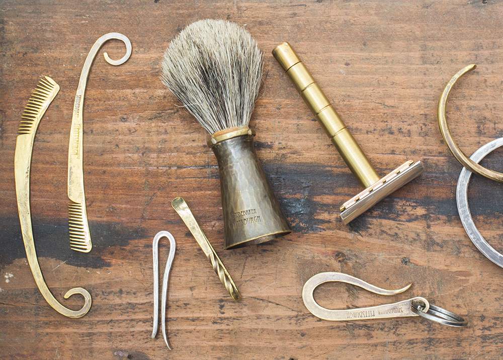 A Beautiful Set of Hand Forged Grooming Tools from Studebaker Metals