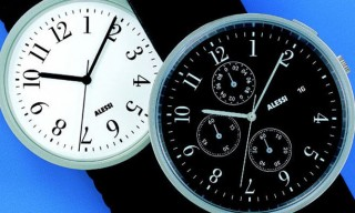 "Affordable and Designy ""Record"" Watches from Alessi"