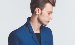 Denham the Jeanmaker and London Cloth Create 2 Pure Indigo-Dye Coats