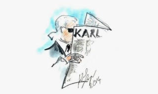 "Karl Lagerfeld to Launch 'The Karl Daily' ""Satirical"" Newspaper"