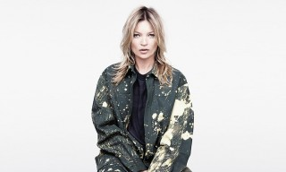 Kate Moss Sports Raf Simons/Sterling Ruby for AnOther Magazine