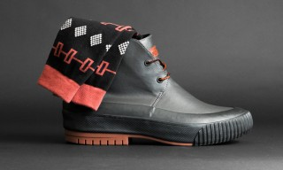 Richer Poorer Design Socks for PF Flyers' Hi-Pres Boot