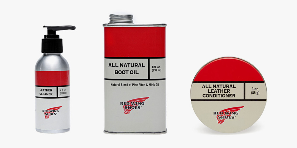 Leather Care Products by Red Wing at END. 2014 • Selectism