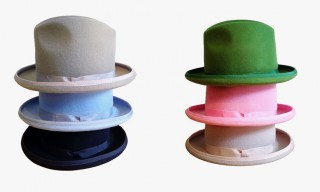 Bernstock Speirs Hat Collection for Jerry Bouthier & Kitsuné