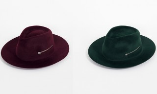 A Set of Larose Fedoras with Extra Storage