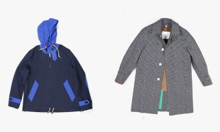 Modern Rainwear – Mackintosh for Band of Outsiders Fall 2014 Line