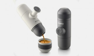 Espresso on the Go with the Hand-Powered Minipresso Machine