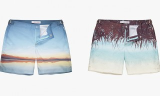 Orlebar Brown & Conde Nast Traveller Photographic Swimwear Collection