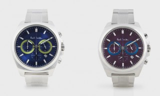 "The Paul Smith ""Final Eyes"" Chronograph Watch Collection"