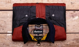 Barbour for SOTO Berlin Exclusive Waxed Berwick Jacket Colorways