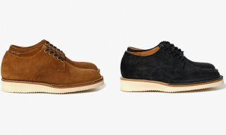 Viberg Create Three Roughout Leather Derby Options for Haven Store