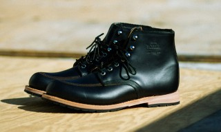Woolrich Release the Yankee Buck Boot in Black Horween Leather