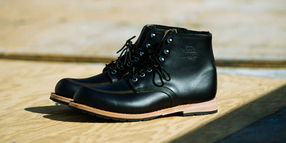 Woolrich Yankee Buck Boot in Black Horween Leather 2014