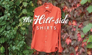 "The Hill-Side Debut ""Made in USA"" Shirts for Fall/Winter 2014"