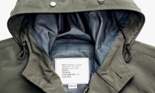 Ace Hotel Re-Release their Fishtail Parka by Alpha Industries