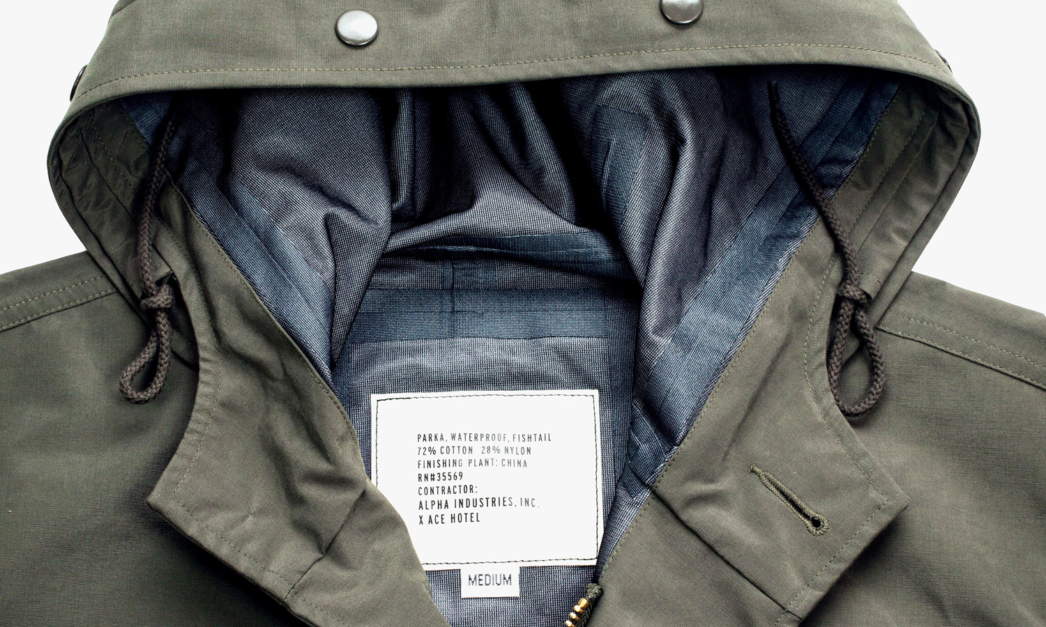 Alpha Industries x Ace Hotel Parka Re-Release 2014