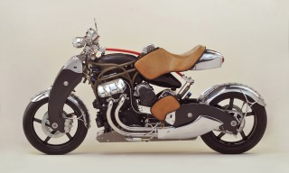 The Powerful Bienville Legacy Motorcycle