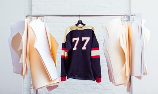 Authentic Football Jerseys by Ebbets Field for J.Crew