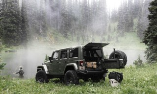 The Limited-Edition AEV Filson Wrangler Off-Roading Vehicle