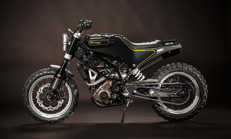 The Husqvarna 2015 Concept Motorbikes at EICMA