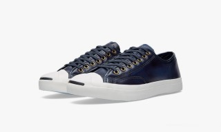 The Converse Jack Purcell Burnished Leather Sneaker – 2 Colors