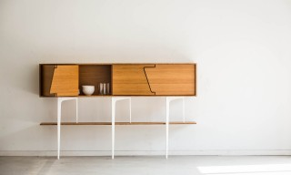 The Modernist Jo-a Neus Bamboo Sideboard