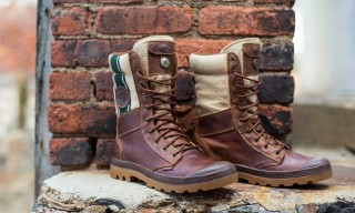 Palladium Release Boots Inspired by Military Blankets