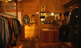 Inside the Porter Classic Store in Kanazawa with houyhnhnm
