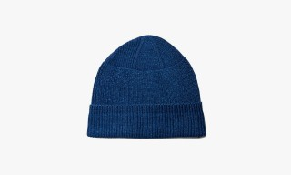 Anonymous ism Knit Hats in 2 Shades of Indigo