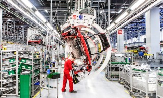 Inside Ferrari's Storied Factory in Maranello, Italy