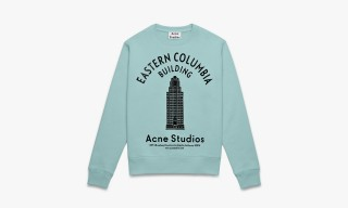 Acne Studios Celebrate LA Anniversary with Art Deco-Inspired Sweatshirts