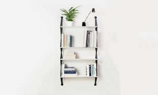 "The Fifti Fifti Lightweight ""Backpack"" Shelving System"