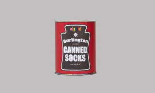 Burlington Socks-in-a-Soup-Can for Oi Polloi