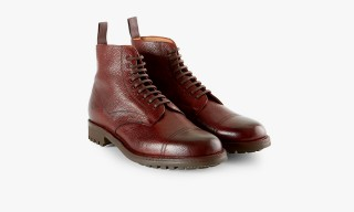 Cheaney Produce 2 Exclusive Footwear Styles for Sunspel