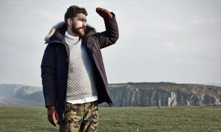 END Clothing Take us to Hadrian's Wall for Winter 2014