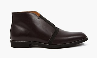 Laceless Leather Footwear from Maison Martin Margiela Spring 2015