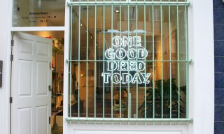 "Introducing East London's Ethical Retailer, ""One Good Deed Today"""