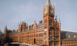 Inside London's Grand & Historic St. Pancras Hotel