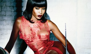 Naomi Campbell Fronts Agent Provocateur's Next Campaign
